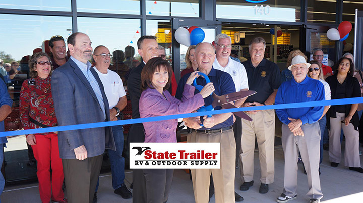 State Trailer Ribbon Cutting Ceremony