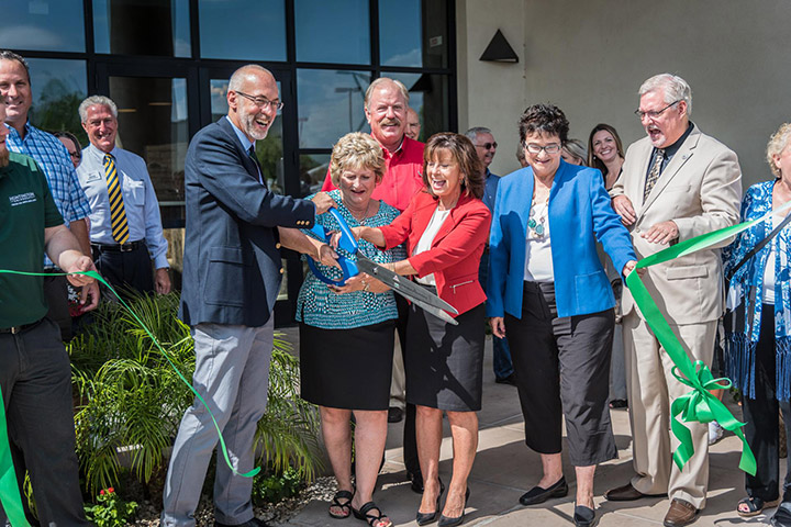 Huntington University ribbon cutting ceremony in Peoria AZ