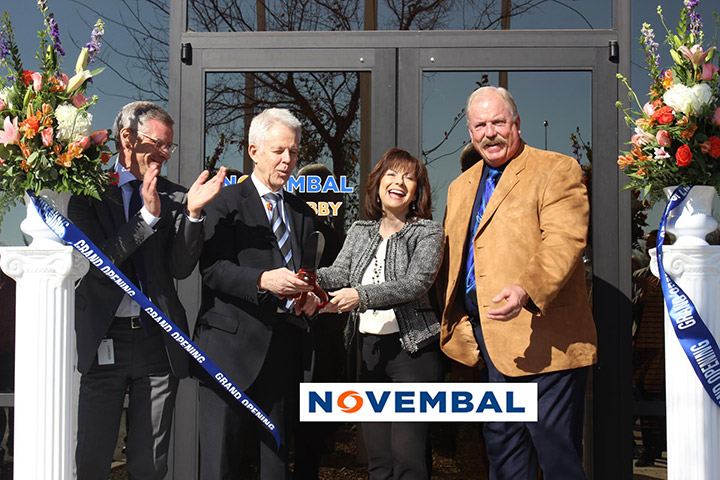 Novembal Ribbon Cutting Ceremony